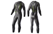 2XU Men's A:1 Active Wetsuit black/vibrant green